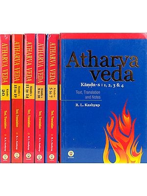 Atharva Veda (Sanskrit Text, English Translation and Explanaotry Notes) (Set of 6 Volumes)