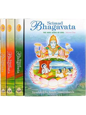 Srimad Bhagavata: The Holy Book of God (Set of 4 Volumes)