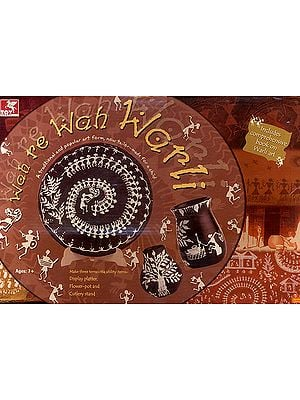 Wah Re Wah Warli (A Traditional and Popular art from, Now Tailor-Made for a Child, Includes Comprehensive Book on Warli Art)
