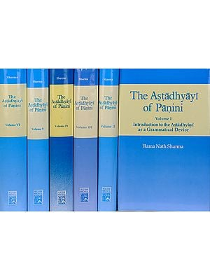 The Astadhyayi of Panini (Set of Six Volumes) (Transliteration and English Translation)