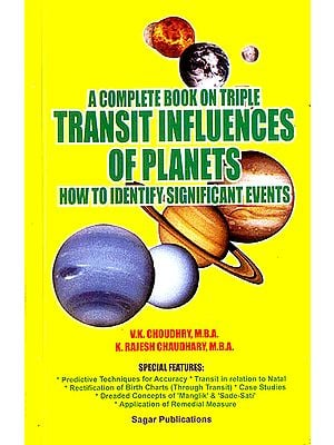 A Complete Book on Triple Transit Influences of Planets (How to Identify Significant Events)