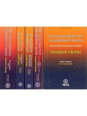 Sri Yoga Vasishta (Maharamayanam): Set of 5 Volumes  - English Translation Only