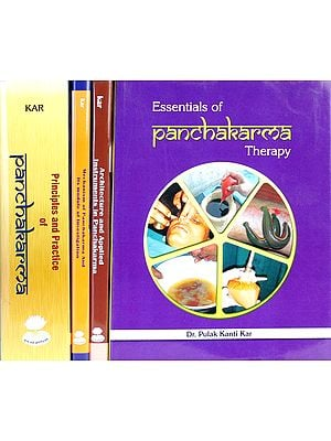 Panchakarma: The Most Comprehensive Resorurce Ever Published (Set of 4 Volumes)