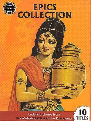 Epics Collection: Enduring Stories from The Mahabharata and The Ramayana (Set of 10 Titles of Comics)