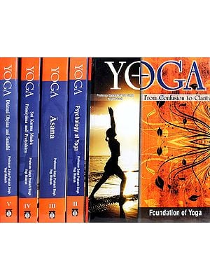 Yoga From Confusion to Clarity (Set of Five Volumes)