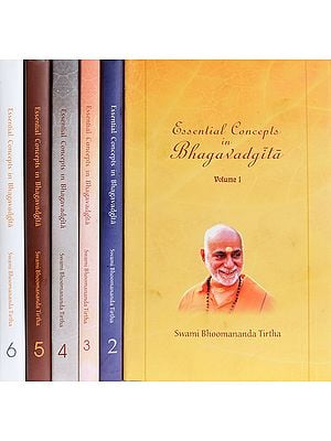 Essential Concepts in Bhagavadgita (Set of 6 Volumes)