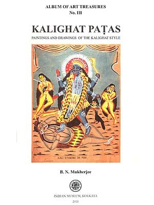 Kalighat Patas: A Portfolio of Paintings (Set of 12 Framable Prints)