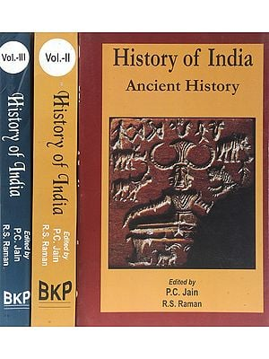 History of India: Ancient, Medieval and Modern History (Set of 3 Volumes)