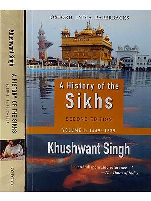 A History of The Sikhs (Set of 2 Volumes)
