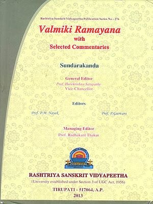 Valmiki Ramayana: Sundarakanda (With Selected Commentaries) ((With Sanskrit Text, Roman Transliteration, Word-to-Word Meaning and English Translation))