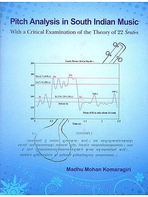 Pitch Analysis in  South Indian Music (With a Critical Examination of The Theory of 22  Sruti-s)