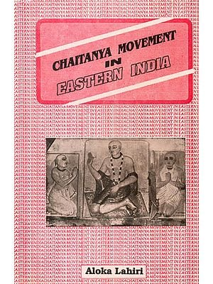 Chaitanya Movement in Eastern India - An Old and Rare Book
