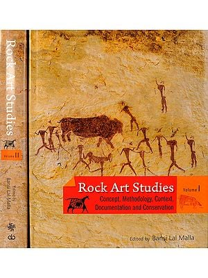 Rock Art Studies (Concept, Methodology, Context, Documentation and Conservation) (Set of Two Volumes)