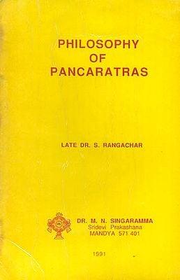 Philosophy of Pancaratras -A Rare Book