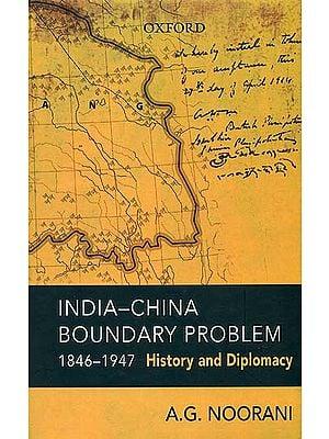India-China Boundary Problem
