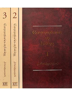 Commentaries On Living (Set of 3 Volumes)