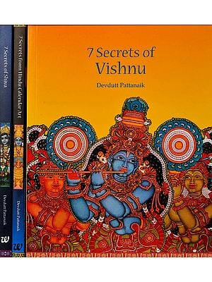 7 Secrets of Vishnu, Shiva and Hindu Calendar Art (Boxed Set of 3 Books)