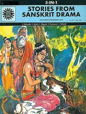 Stories From Sanskrit Drama: Shakuntala, Urvashi, Udayana, Vasantasena, Ratnavali (Comic)