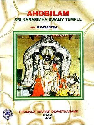 Ahobilam : Sri Narasimha Swamy Temple (An Old and Rare Book)