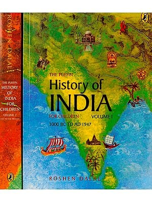 History of India for Children (Set of 2 Volumes)