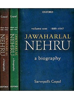 Jawaharlal Nehru: A Biography (Set of 3 Volumes)