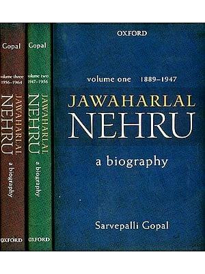 Jawaharlal Nehru: A Biography (Set of 3 Volumes)
