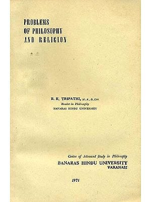 Problems of Philosophy and Religion (A Rare Book)