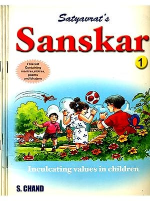 Sanskar (Inculcating Values in Children) With 4 CD's (Set of 4 Books)