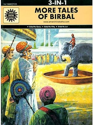 More Tales of Birbal (Birbal The Genius, Birbal The Wity, Birbal The Just) (Comic Book)