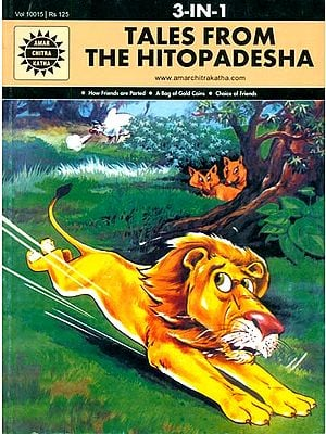 Tales From The Hitopadesha (How Friends Are Parted, A Bag of Gold Coins, Choice of Friends) (Comic Book)