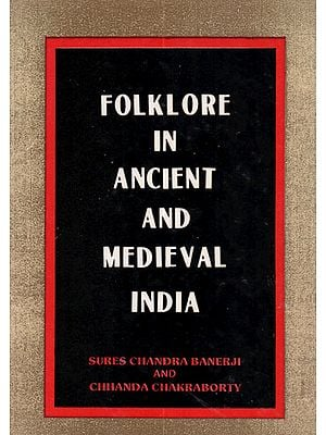Folklore in Ancient and Medieval India (An Old Book)