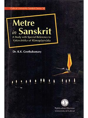 Metre in Sanskrit-A Study with Special Reference to Vrttavartika of Ramapanivada