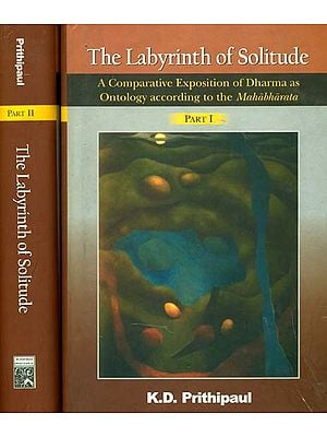 The Labyrinth of Solitude (A Comparative Exposition of Dharma as Ontology According to the Mahabharata): Set of 2 Volumes