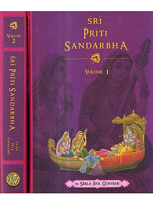 Sri Priti Sandarbha (Set of 2 Volumes)
