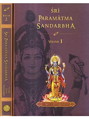 Sri Paramatma Sandarbha (Set of 2 Volumes)