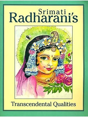 Srimati Radharani's Transcendental Qualities (Coloring Book)