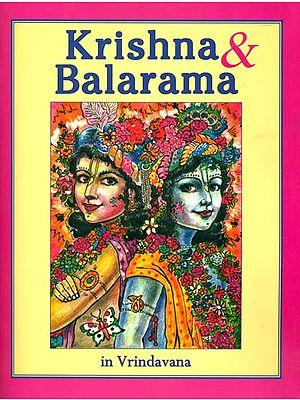 Krishna & Balarama in Vrindavana (Coloring Book)