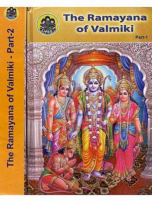 The Ramayana of Valmiki (Set of 2 Volumes)