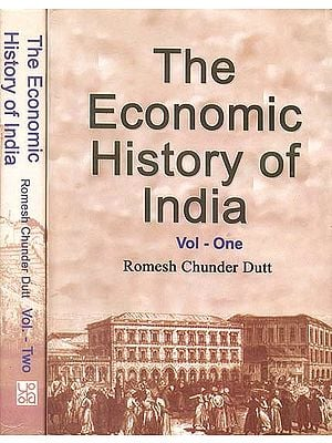 The Economic History of India (Set of 2 Volumes)