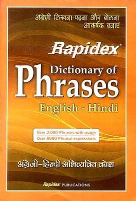 Rapidex Dictionary of Phrases (English-Hindi)