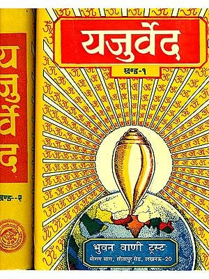 यजुर्वेद: Yajurveda (Word-to-Word Meaning, Hindi Translation and Explanation) (Set of 2 Volumes)