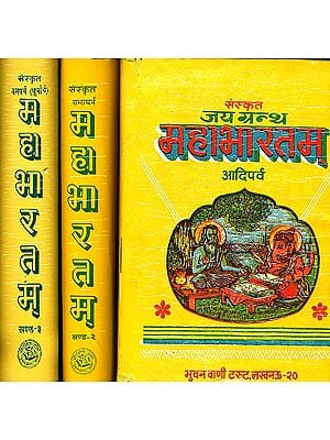महाभारतम्: Mahabharata in Hindi Verse Translation (Set of 3 Volumes)