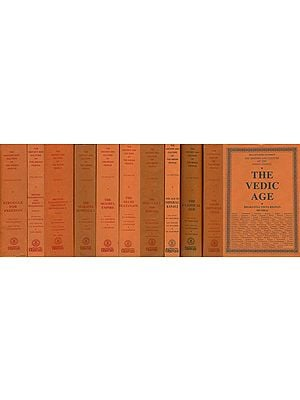 The History and Culture of the Indian People (Set of XI Volumes)