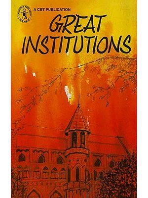 Great Institutions