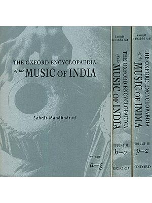 The Oxford Encyclopaedia of the Music of India (Set of 3 Volumes)