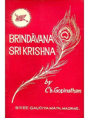 Brindavana Sri Krishna (An Old and Rare Book)