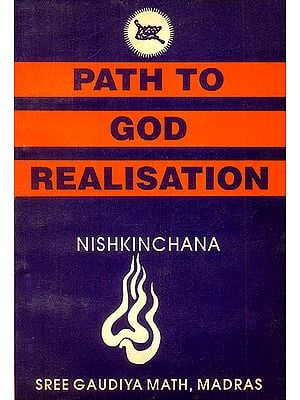 Path to God Realisation (An Old and Rare Book)