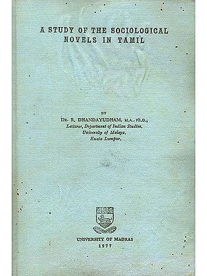 A Study of The Sociological Novels in Tamil (An Old and Rare Book)
