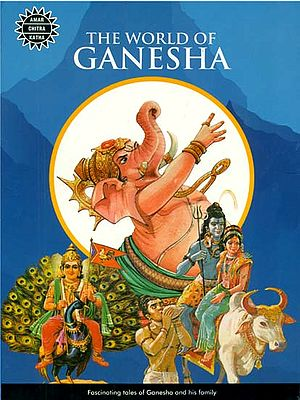 The World of Ganesha: Fascinating Tales of Ganesha and His Family (Set of 10 Comics)