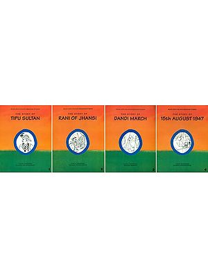 Read and Colour Freedom Stories (Set of 4 Books)